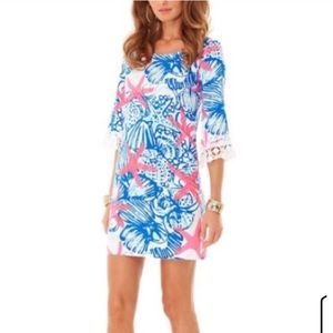 Lilly Pulitzer She Shells Holy Grail Dress Size S